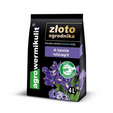 Agrovermikulitas gėlėms 4 litrų