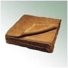 Džiutinis audinys šaknų surišimui 80 cmx 80 cm (100 vnt.)