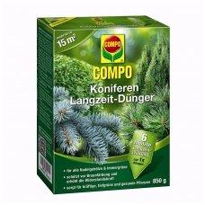 Ilgo veikimo kompleksinės trąšos COMPO spygliuočiams, 1 kg
