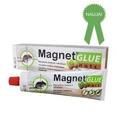 MAGNET GLUE NUTS klijai pelėms, žiurkėms ir vabzdžiams, 135 g