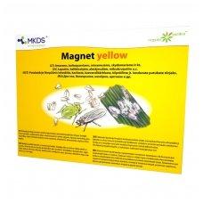 Magnet Yellow - baltasparnių, amarų gaudyklė 20*25