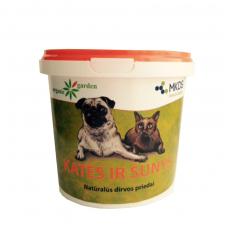 Natūralūs dirvos priedai nuo kačių ir šunų, 1l