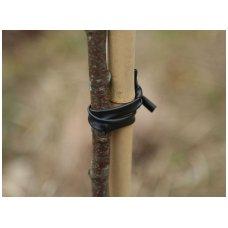 Plastikinė žarnelė medžių tvirtinimui, juoda, ø 4 mm, 500 m