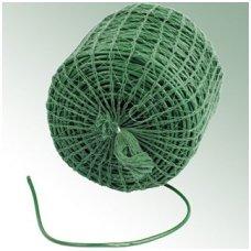 Plastikinė žarnelė medžių tvirtinimui, žalia, ø 3 mm, 100 m