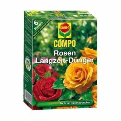 Trąšos rožėms COMPO, lėtai tirpios, 1 kg